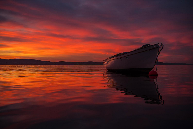 Derwent-River-Sunrise-Hobart>