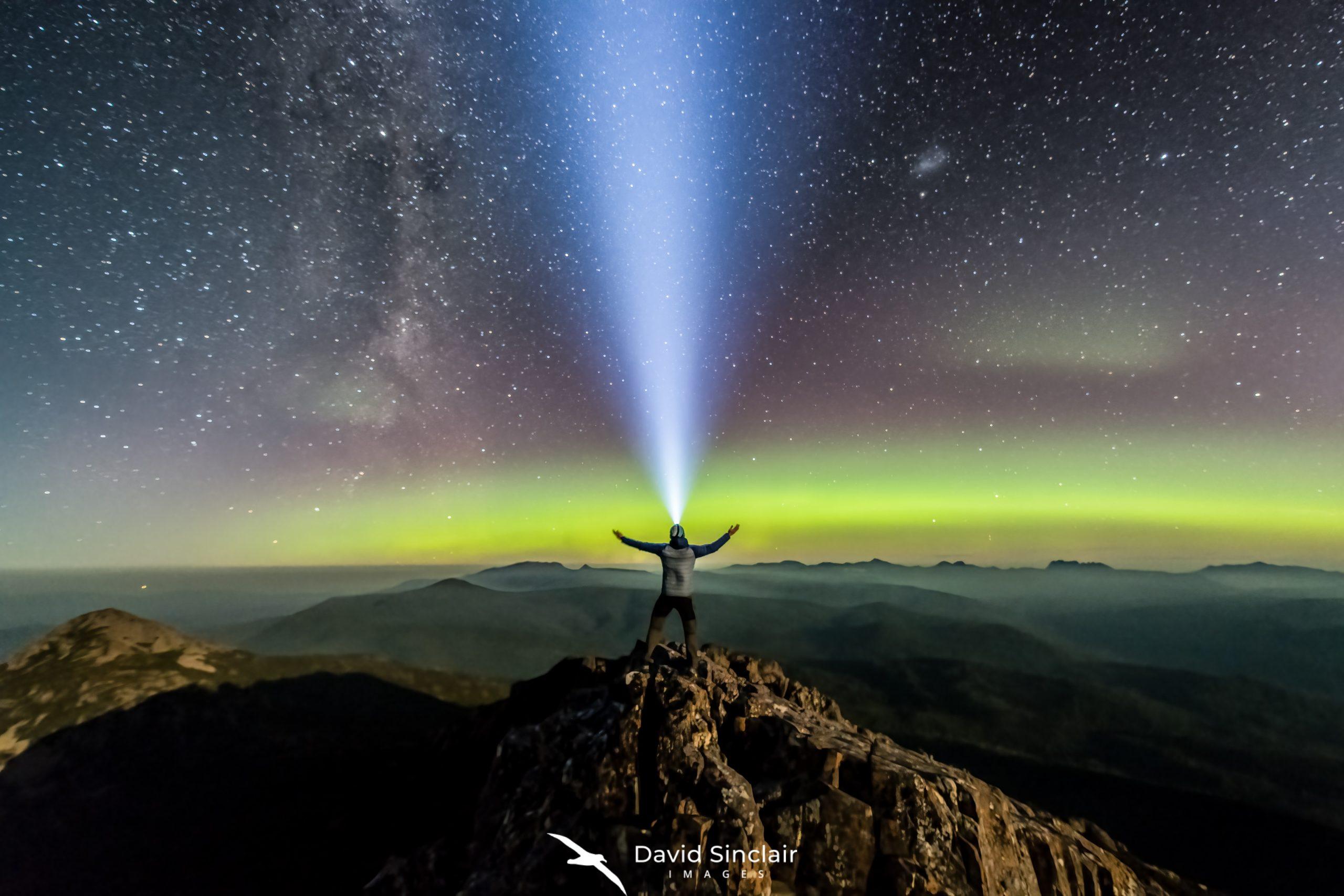 Hartz Peak Aurora>
